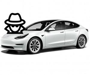 Tesla sammel Daten